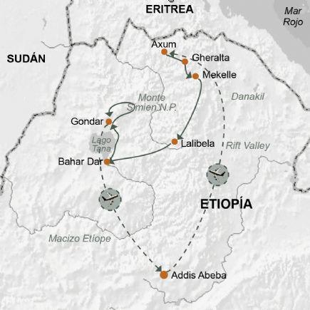 Aniversario de Lalibela y celebración de Milhela en Axum