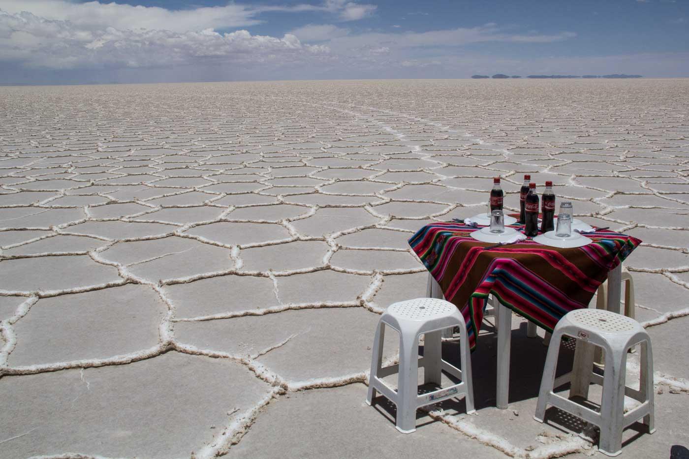 El mejor restaurante de Uyuni - Autor Pilar Sierra - Foto realizada en Bolivia