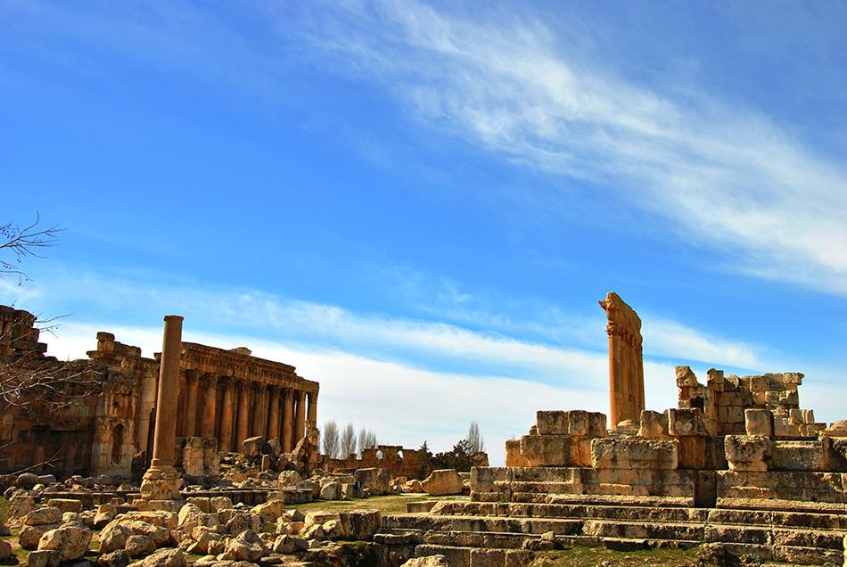 Legado romano en la localidad de Baalbkeck | Foto © Mercè Gayà
