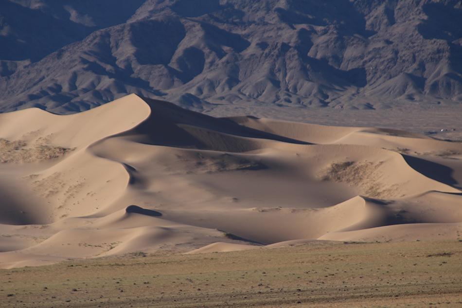 Paisaje en el Desierto de Gobi   Foto © Conchi Serrano