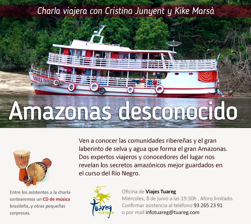 Charla de viajes - Amazonas desconocido