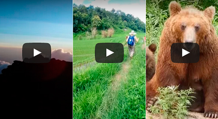 Nos encantan los relatos en vídeo de vuestros viajes