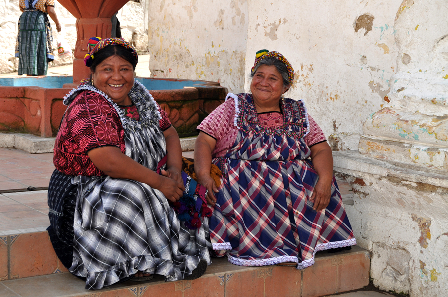 Un pequeño descanso para charlar, Guatemala | Foto © Ainara Alonso