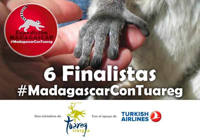 Finalistas concurso #MadagascarconTuareg