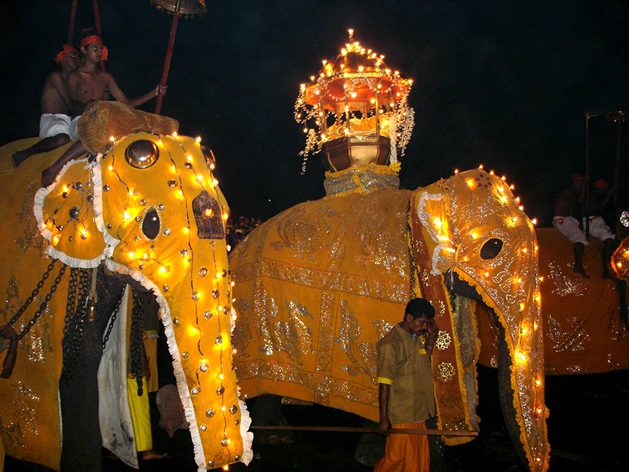 Desfiles del festival Perahera en Kandy, Sri Lanka | Foto © Quim Trullas