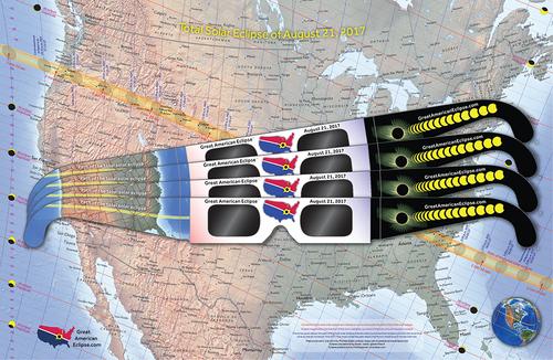 Gafas para el eclipse de USA2017