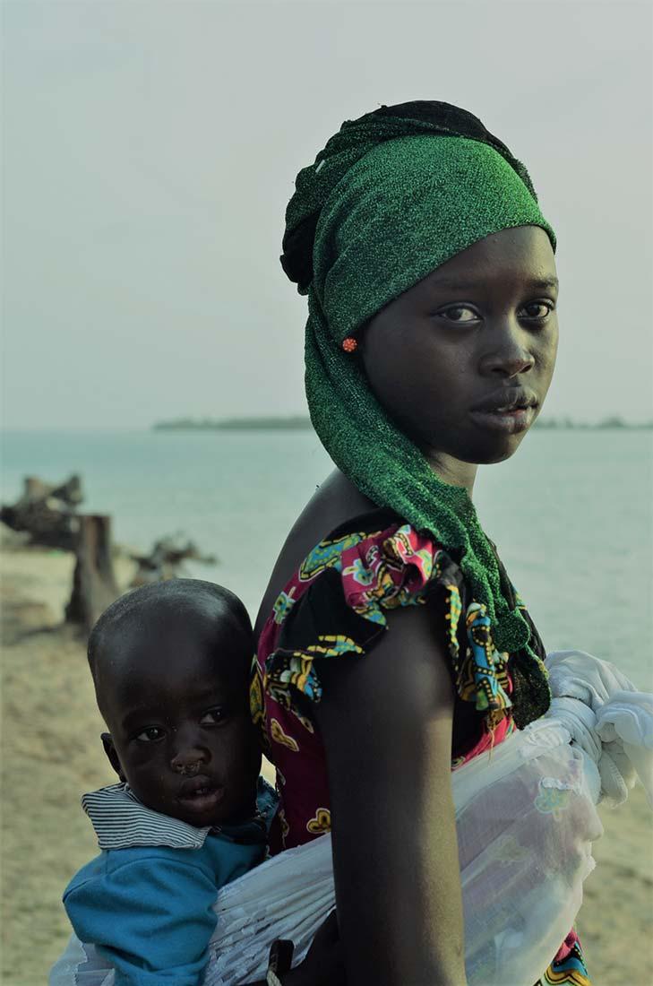 Mamá. Autor Camino Granado - Viaje a Senegal
