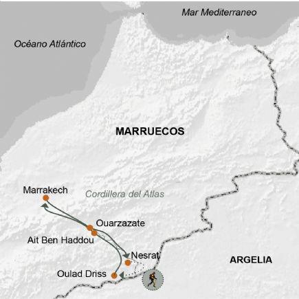 Marruecos + Senderismo en el valle del Draa.