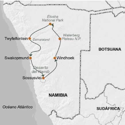Namibia + Lo mejor de Namibia