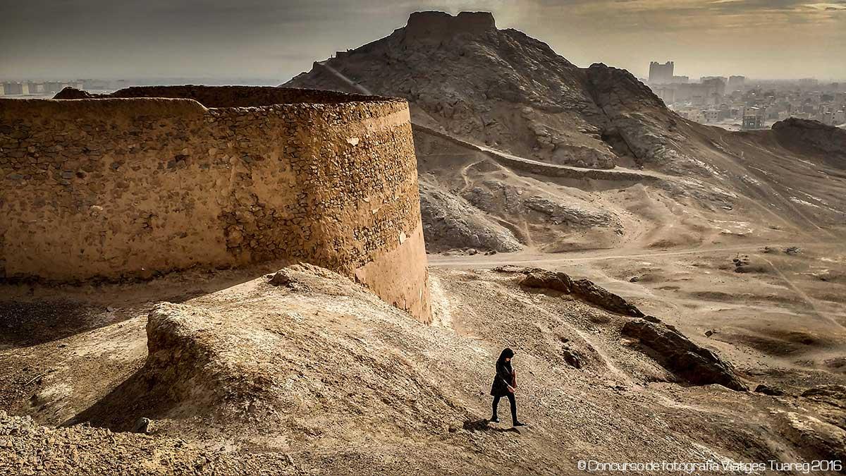 La peregrina del silencio - Autor Xavier Grande - Foto realizada en Irán