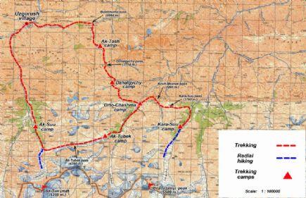 Kirguistán + Trekking Patagonia en Asia