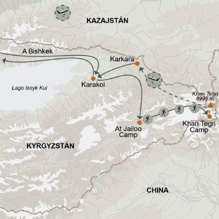 Kirguistán + Trekking hasta el corazón del Tien Shan