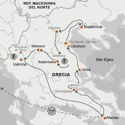Grecia + Caminatas por la Grecia continental