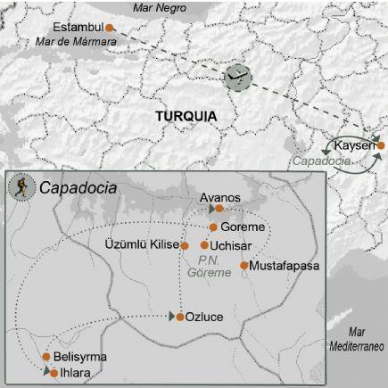 Turquía + Senderismo en Capadocia y Estambul