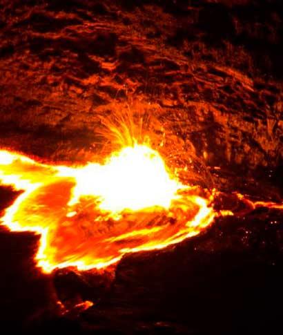 El Erta Ale es un espectáculo que hipnotiza con su fuerza viva y fascinante. El magma que fluye del ... <br> <a class=&acutevermellteula´>Seguir leyendo >>></a>
