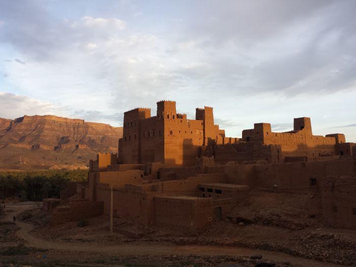 fotos del viaje a Marruecos Senderismo en el valle del Draa.  autor:Isi Juvé