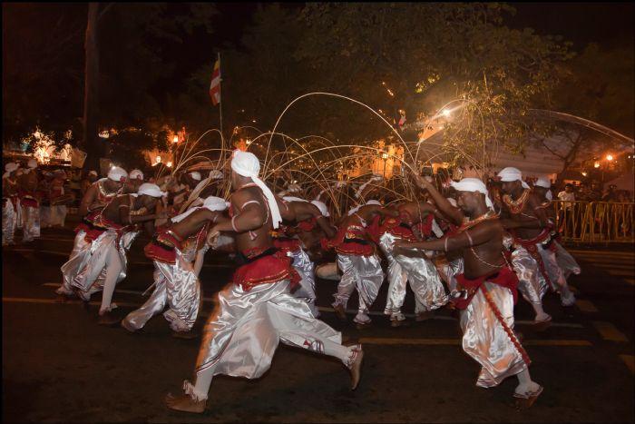 fotos del viaje a Sri Lanka Especial Festival Perahera autor:Tino Valdivieco
