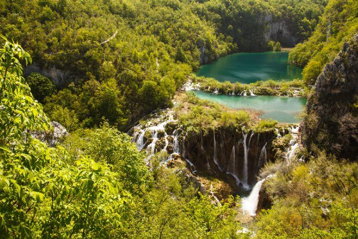 fotos del viaje a Croacia Los Parques Nacionales en BTT autor:Eduardo Blanco