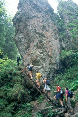 fotos del viaje a Eslovaquia Senderismo en los Parques Naturales de los Cárpatos autor:Pere Mongay