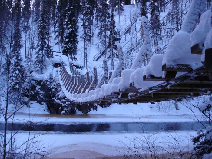 fotos del viaje a Finlandia Multiaventura invernal en la región de Koillismaa autor:J Malga i Garrido