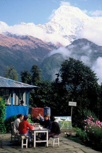 fotos del viaje a Nepal Valle Katmandú, Lagos Begnas y Pokhara, Ghorepani Trek y Safari en Chitwan autor:A Lopez