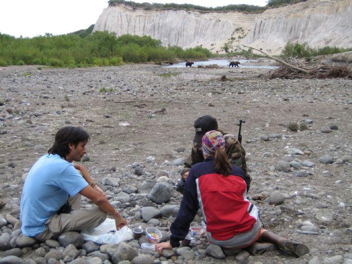 fotos del viaje a Rusia - Kamchatka Ríos, osos y volcanes autor:Pilar Sierra
