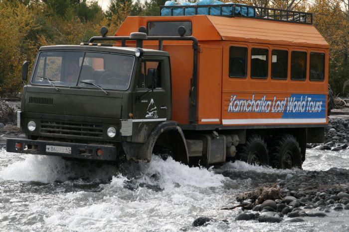 fotos del viaje a Rusia - Kamchatka Ríos, osos y volcanes autor: