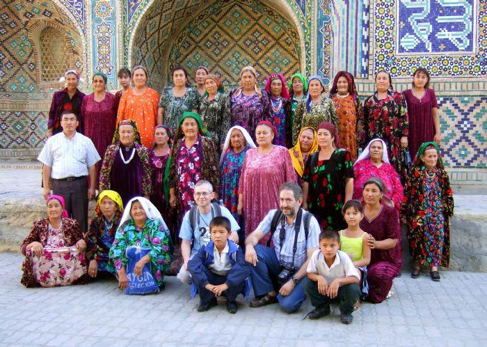 fotos del viaje a Uzbekistán y Kyrgyzstán Ruta de la Seda y montes Tien Shan  autor:Montse Sanllehy