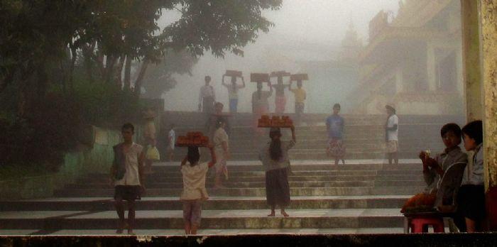 fotos del viaje a Myanmar  Año nuevo en Bagan, Yangon, Mandalay, Inle y minorías Kayah II autor:Esther Valles