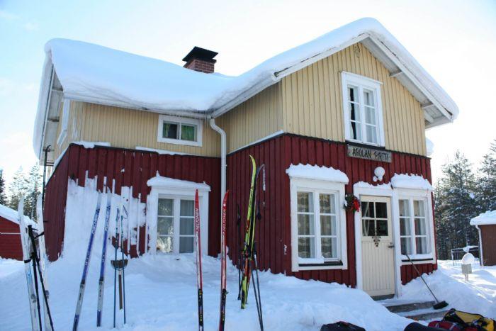 fotos del viaje a Finlandia Multiaventura invernal en la región de Koillismaa autor:Upitrek