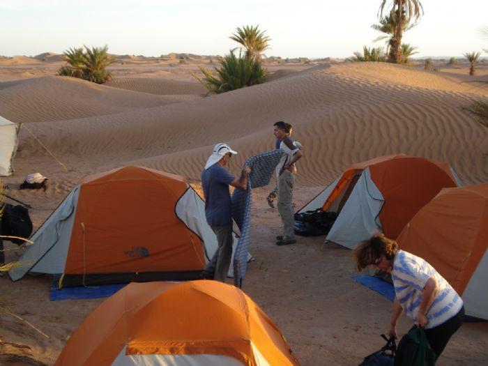 fotos del viaje a Marruecos Senderismo en el valle del Draa.  autor:Monica Bassi