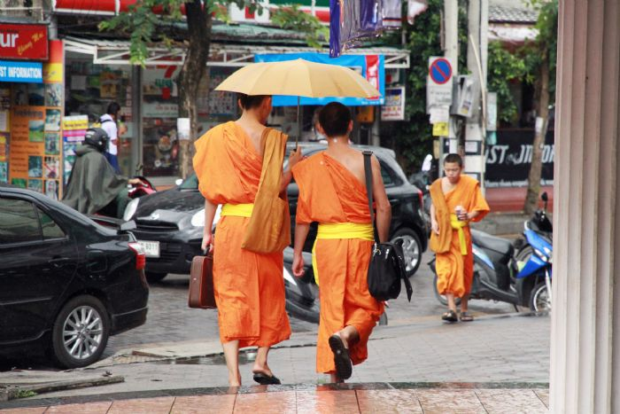 fotos del viaje a Tailandia Bangkok, Norte de Chiang Mai y playas del sur autor:Peggy Belbouche