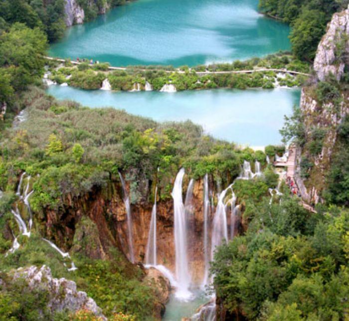 fotos del viaje a Croacia Los Parques Nacionales en BTT autor:Huck Finn.cr