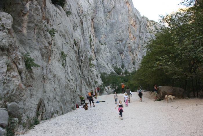 fotos del viaje a Croacia Los Parques Nacionales en BTT autor:P Mongay