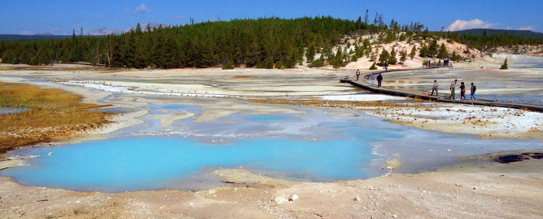 Estados Unidos - Yellowstone y parques del medio oeste. Ruta de senderismo