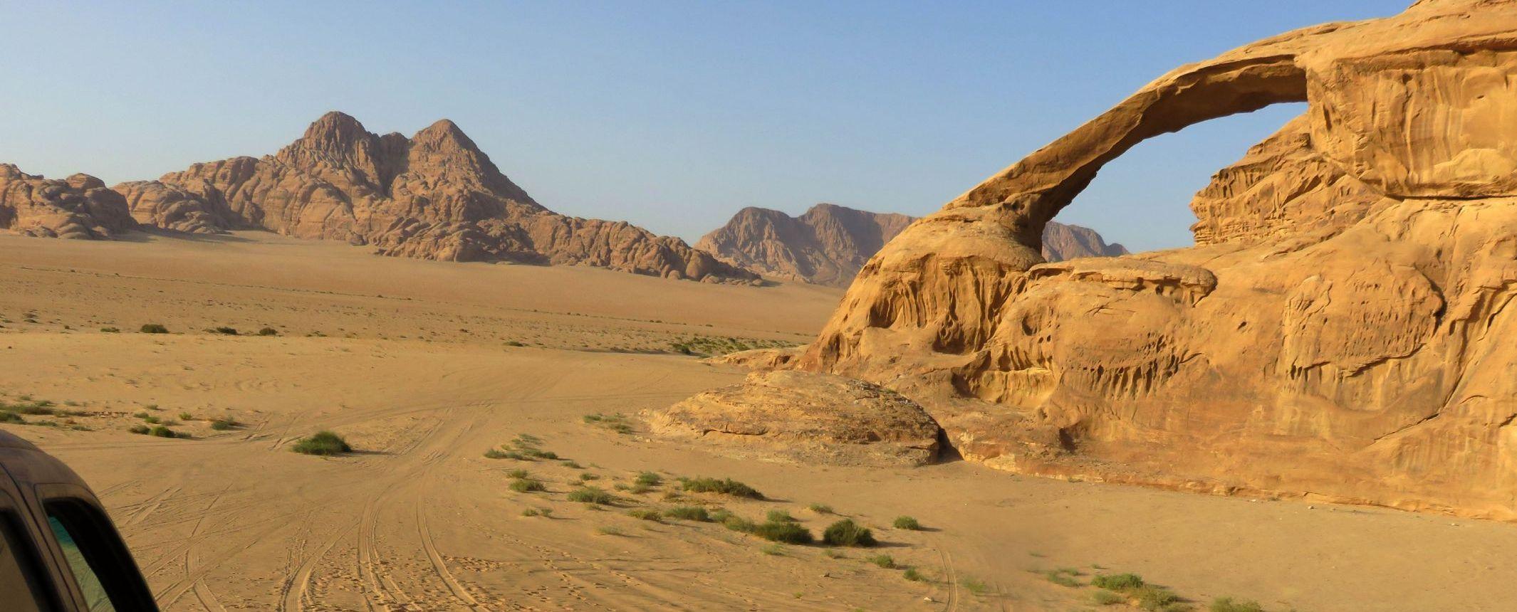 Jordania - Trekking por Dana, Petra y Wadi Rum. Ext. Líbano