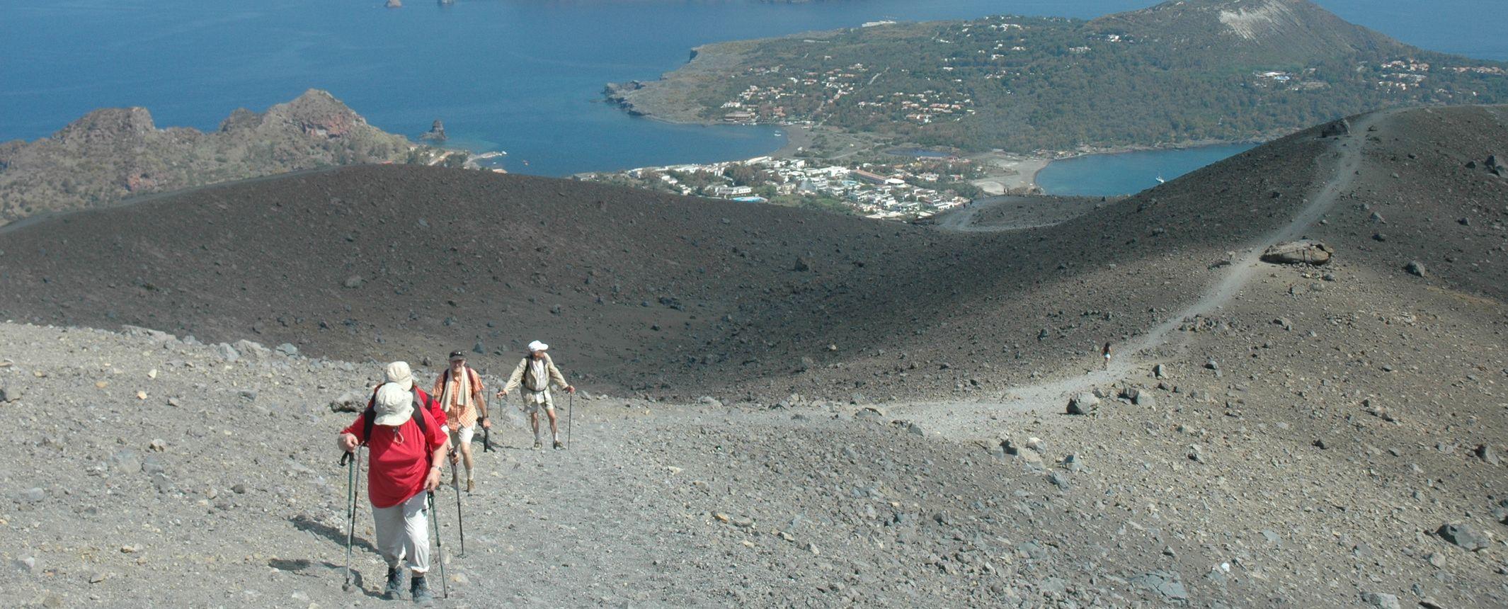 Italia - Senderismo en los volcanes de Sicilia e Islas Eolias