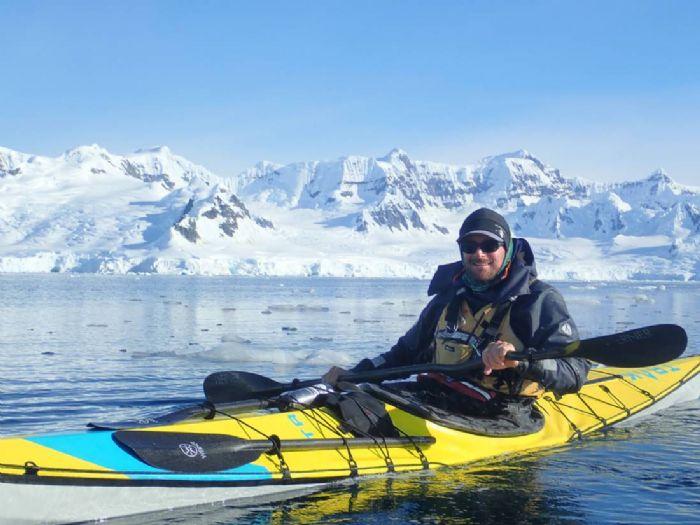 Caminatas y kayak en el ártico noruego Autor foto: Philipp Schaudy