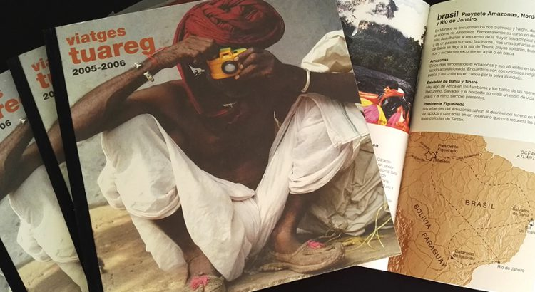 Viatges Tuareg - Catálogos en papel del año 2005-2006
