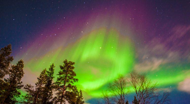 Auroras Boreales en FInlandia - Autor JM. Prat