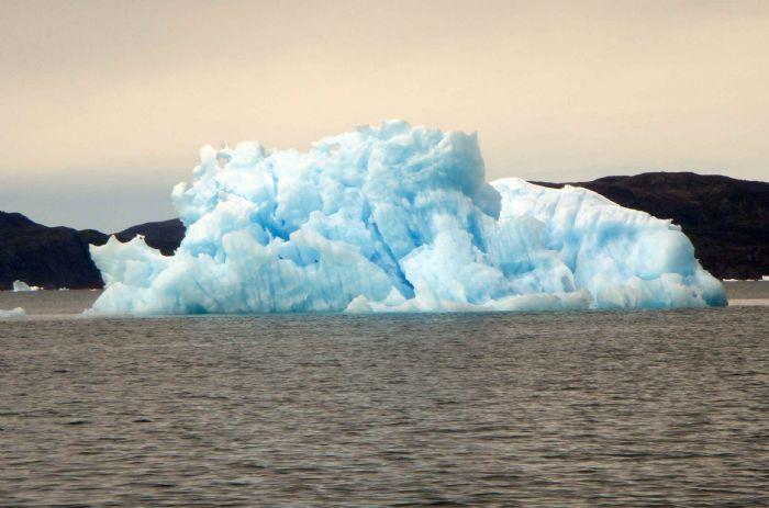 Montañas de hielo flotando en Groenlandia | Foto © Silvia Colomer