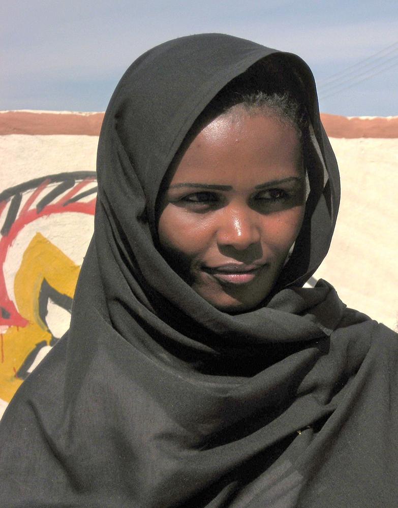 Chica en Sudán | Foto © Matilde Moreno