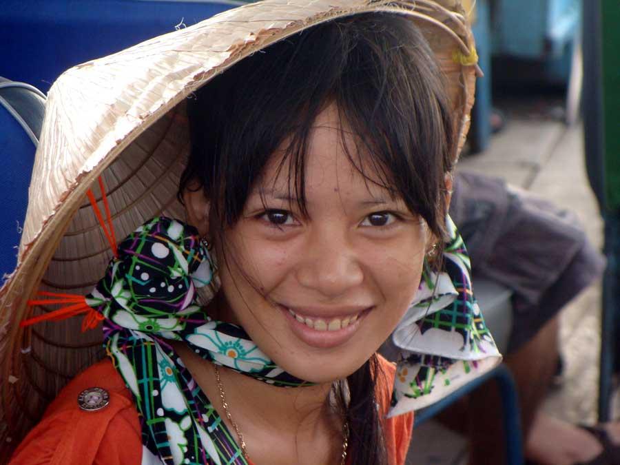 Mujer sonriendo, Vietnam | © Juan Izquierdo