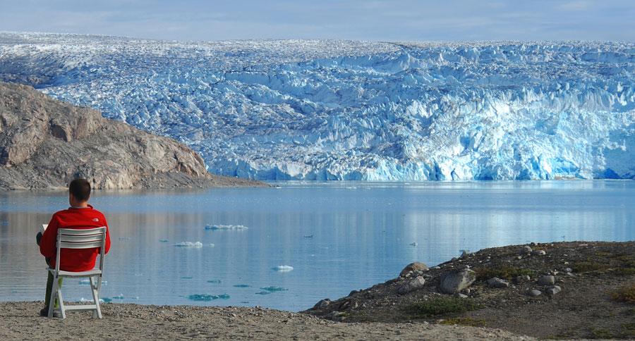 Glaciares en Groenlandia. Foto de MR Salazar