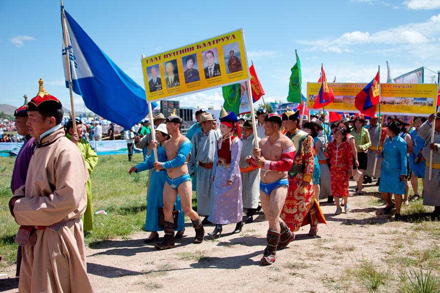 Grupo de Mongoles en una Celebración | © Jordi Zaragoza