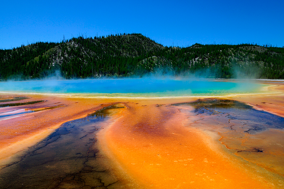 El Grand Prismatic Spring en Yellowstone | Foto © David Sanchez