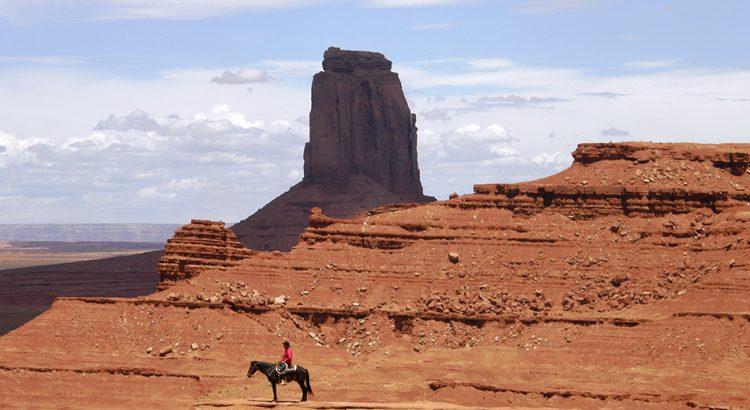 Estampa americana en el Parque Nacional de Monument Valley | Foto© Joan Castellví