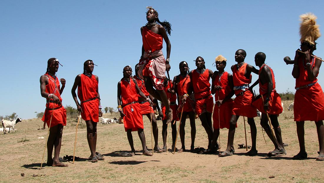 Miembros de los Masai en Kenya | Foto © A. Bedia