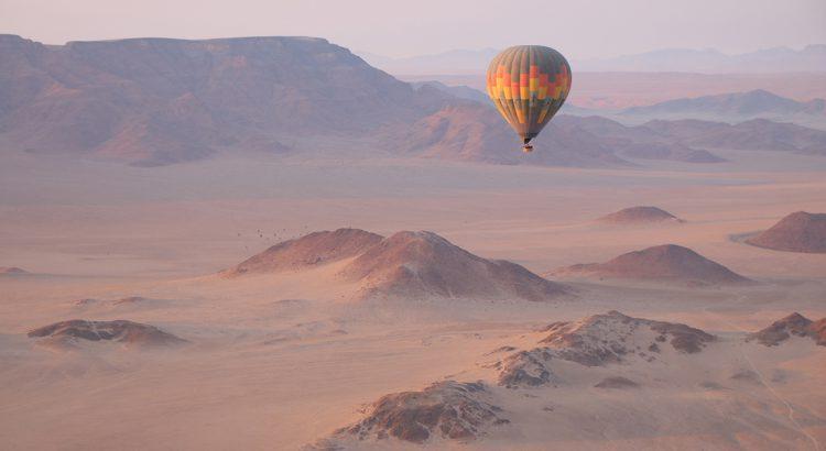 Desierto del Namib en Globo | Foto © Emilio Serrano