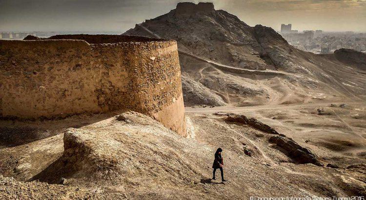 La peregrina del silencio | Foto © Xavier Grande
